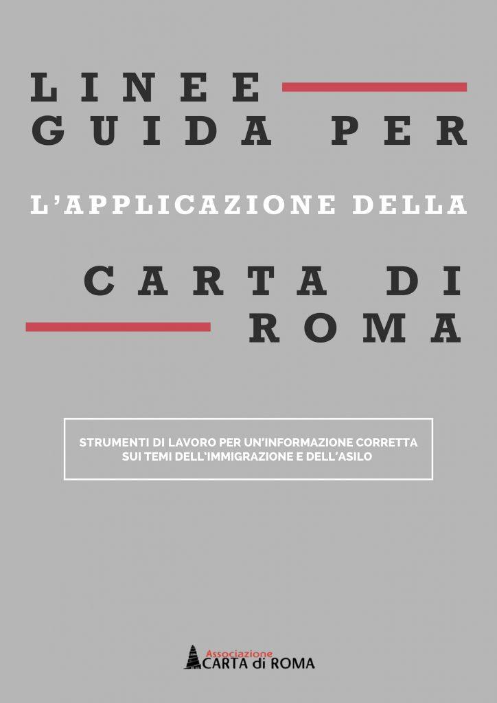 Linee guida Carta di Roma 2018-1